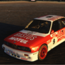 BMW E30 M3 Group A 80's rally skin
