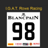 I.G.A.T. Rowe Racing #98 Blancpain Endurance Series