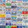 51 States License plate pack