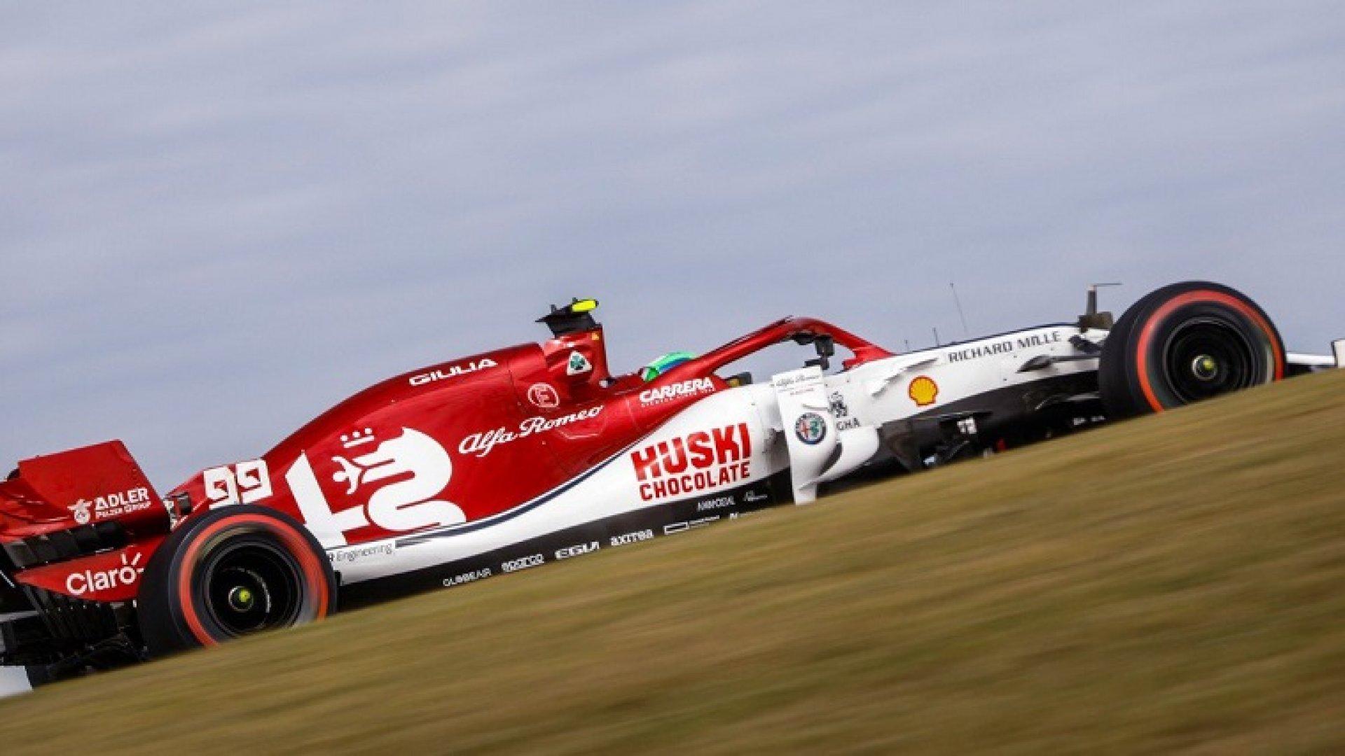 F1 Alfa Romeo Confirms Giovinazzi For 2020 Racedepartment