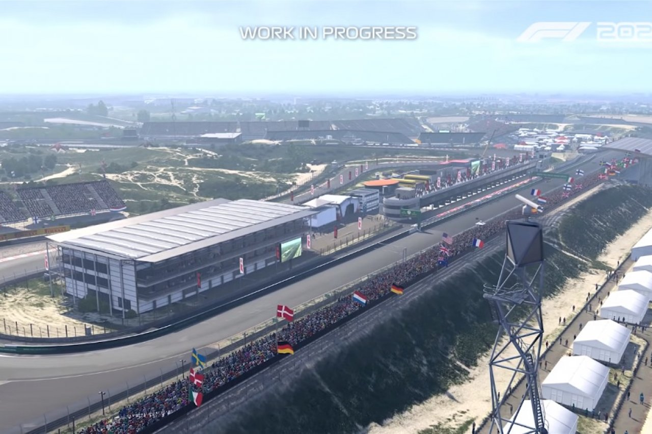F1 2020 First Look At The New Zandvoort Racedepartment