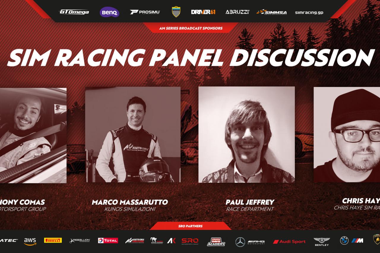 2683 Sim Racing Discussion With Kunos Simulazioni, SRO, Chris Haye And RD
