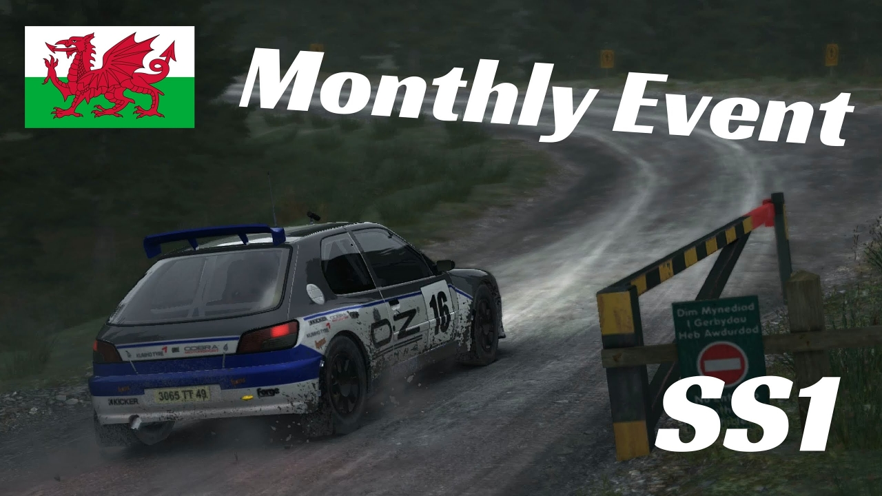 video dirt rally monthly event peugeot 306 maxi. Black Bedroom Furniture Sets. Home Design Ideas