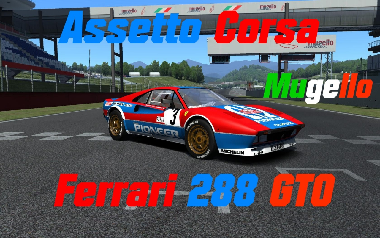 video  u0026quot assetto corsa      ferrari 288 gto groupe b      mugello u0026quot  in the album  u0026quot assetto corsa u0026quot  by