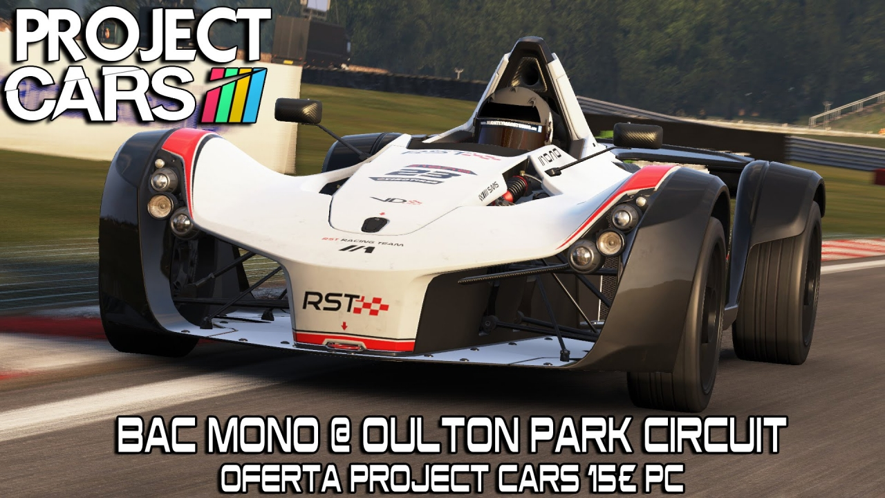 video project cars bac mono oulton park project cars 15 in the album project cars by. Black Bedroom Furniture Sets. Home Design Ideas