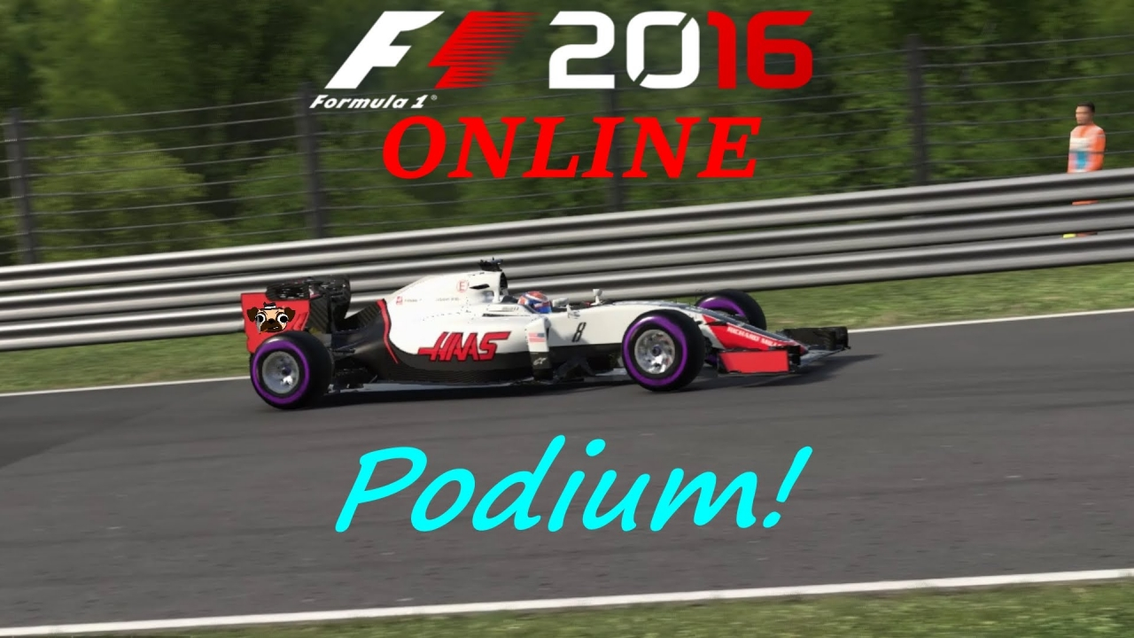 F1 2016 Online: Finally on the podium!
