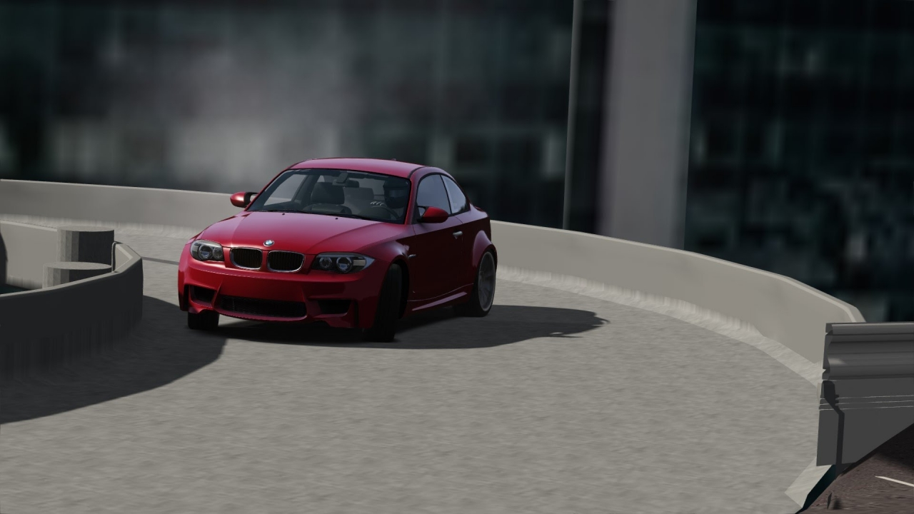 Parking Deck | BMW 1M | Assetto Corsa