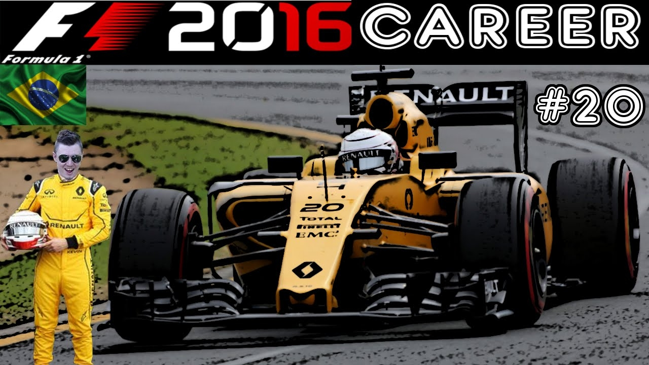 F1 2016 Career - S1R20: Brazil - There's A Haas On Pole!!!!