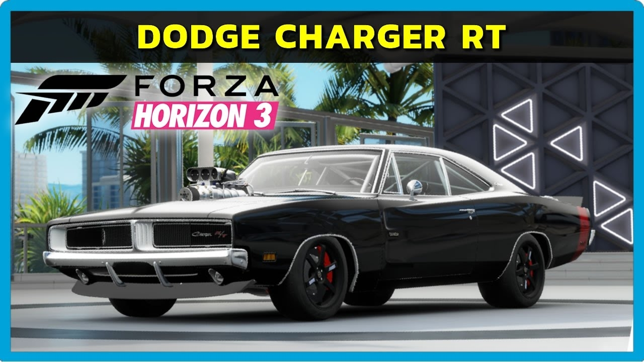 video forza horizon 3 pc dodge charger rt bodykit pt br in the album other racing games. Black Bedroom Furniture Sets. Home Design Ideas