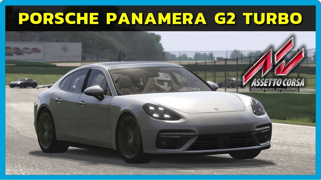 video assetto corsa porsche panamera g2 turbo at vallelunga pt br in the album assetto. Black Bedroom Furniture Sets. Home Design Ideas