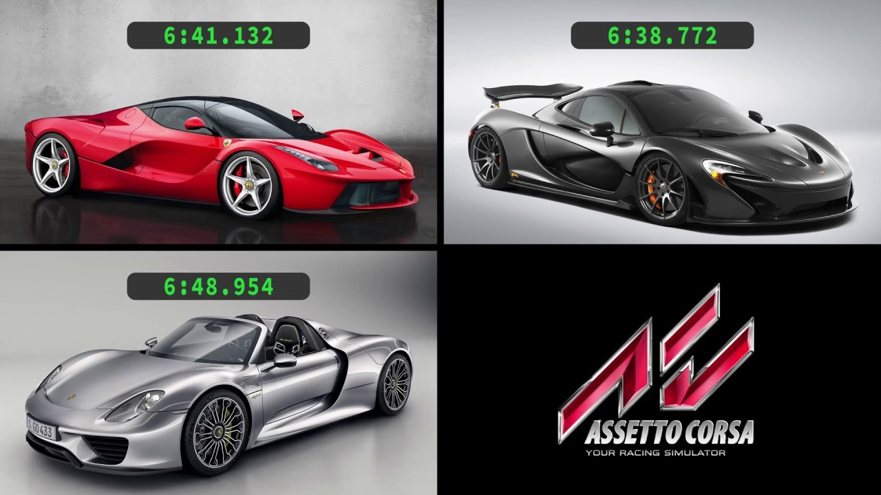 video assetto corsa hypercar shootout holy trinity nordschleife in the album assetto. Black Bedroom Furniture Sets. Home Design Ideas