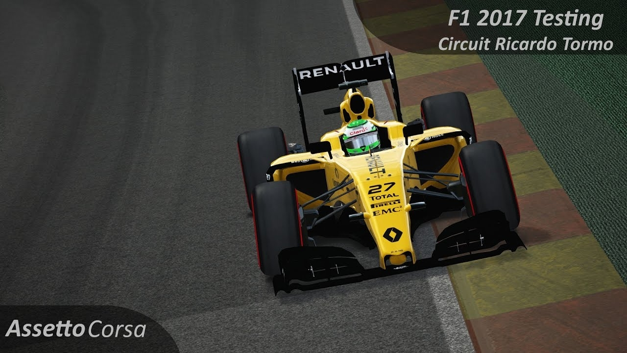 video assetto corsa f1 2017 h lkenberg testing renault r onboard in the album assetto. Black Bedroom Furniture Sets. Home Design Ideas