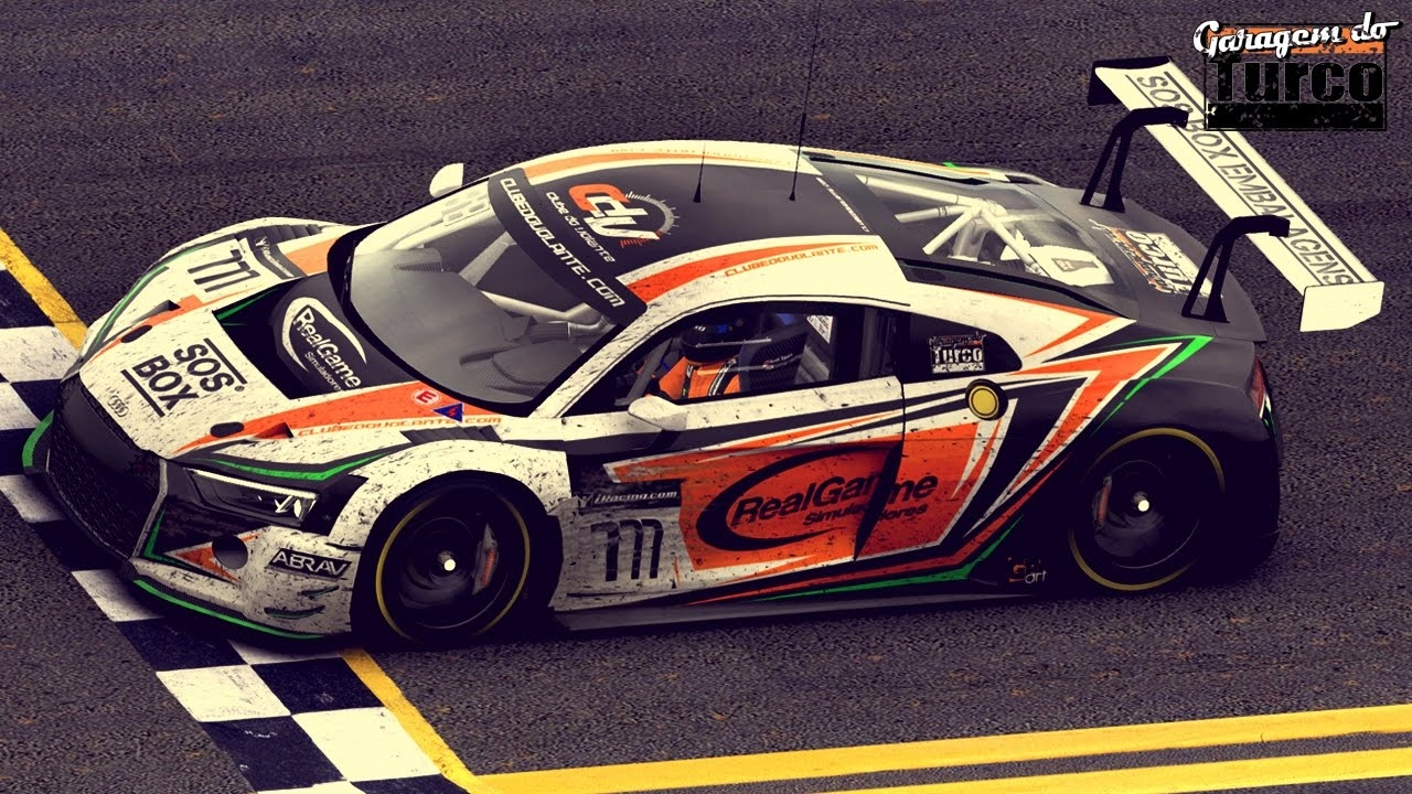 Brazilian GT3 league - 60 drivers at Daytona (Race Report)