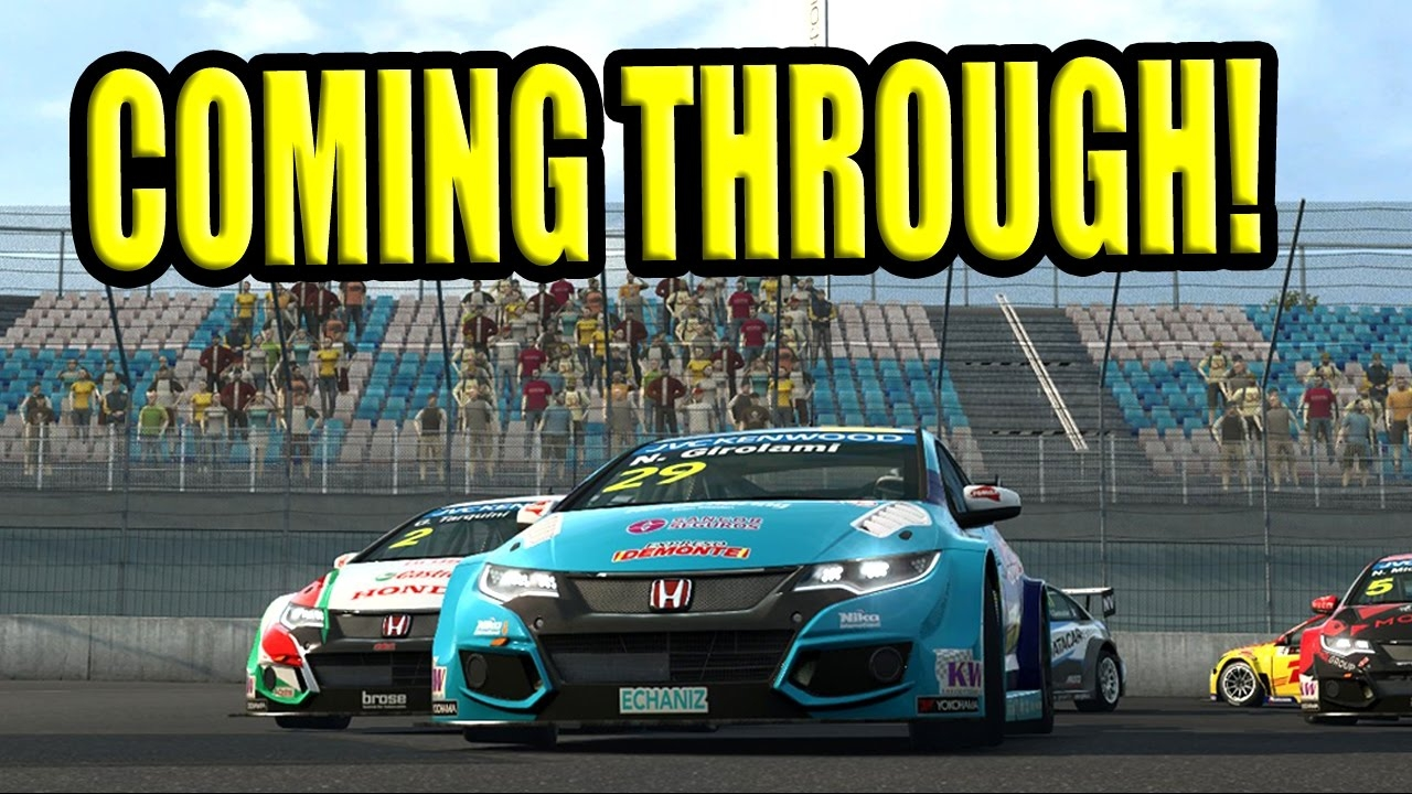 Close online racing with Racedepartment (WTCC @ Eurospeedway Lausitz)