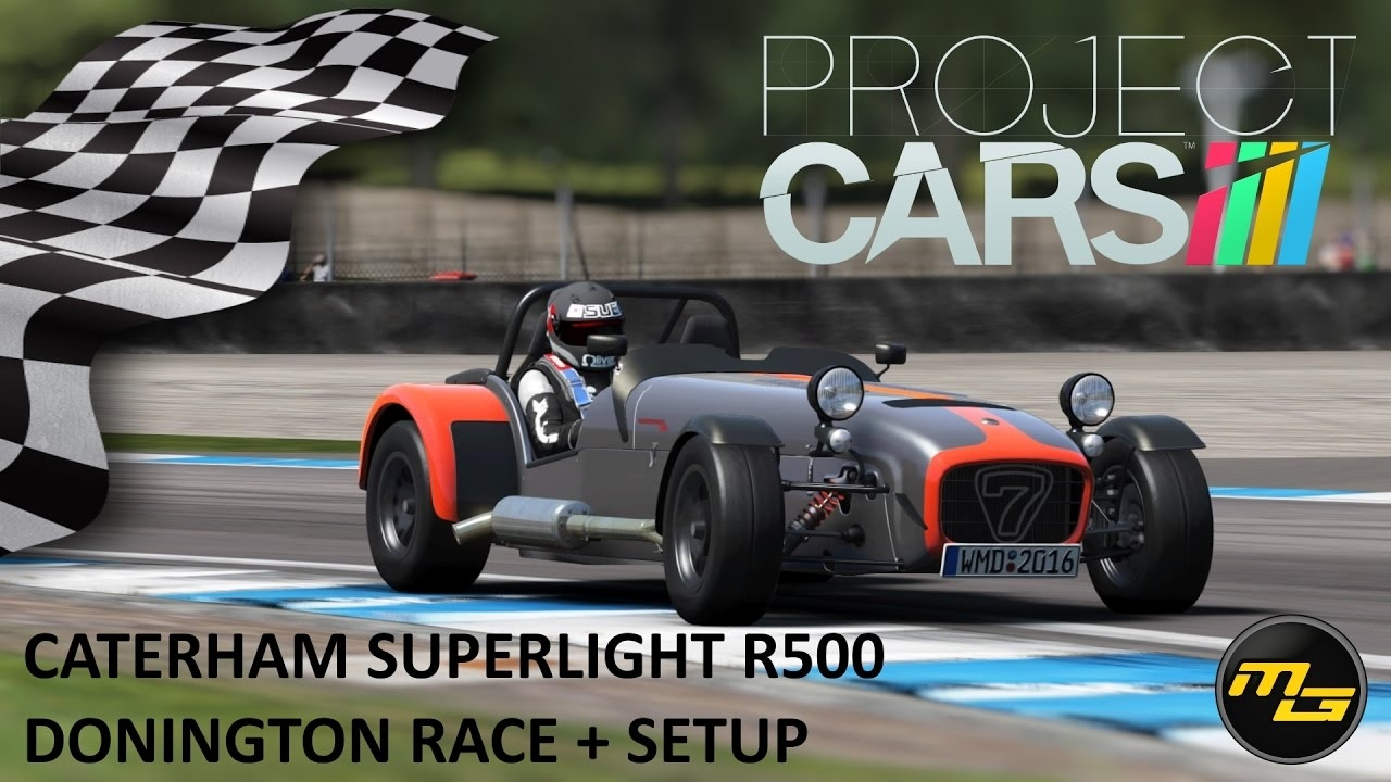 Video project cars caterham superlight r500 race at donington video project cars caterham superlight r500 race at donington setup in the album project cars by miancomasa racedepartment publicscrutiny Image collections