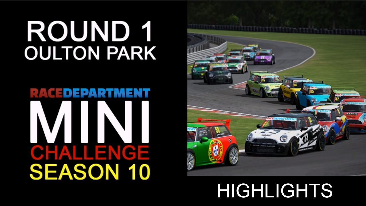 RD MINI Challenge  Round 1 Oulton Park International HIGHLIGHT REEL