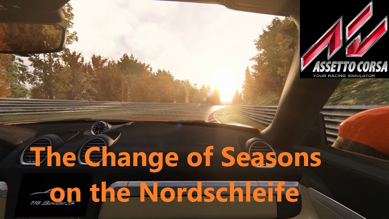 Assetto Corsa (1.12.1) – Change of Seasons on the Nordschleife