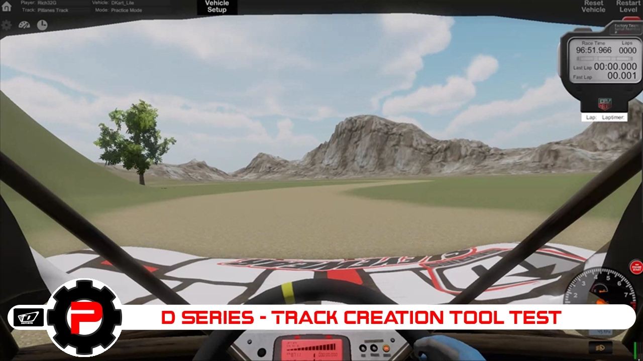 D Series OFF ROAD | Track creation tool test