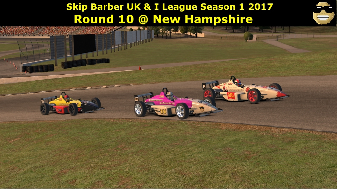 iRacing - Skip Barber UK and I League @ New Hampshire