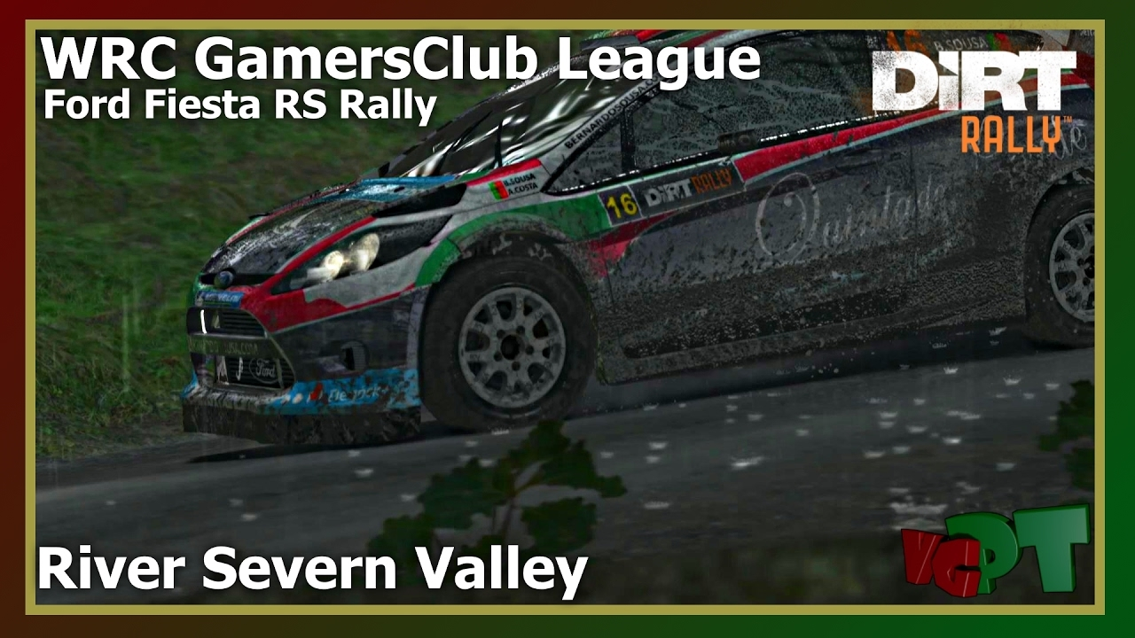 Dirt Rally - WRC GamersClub - Ford Fiesta RS WRC - River Severn Valley