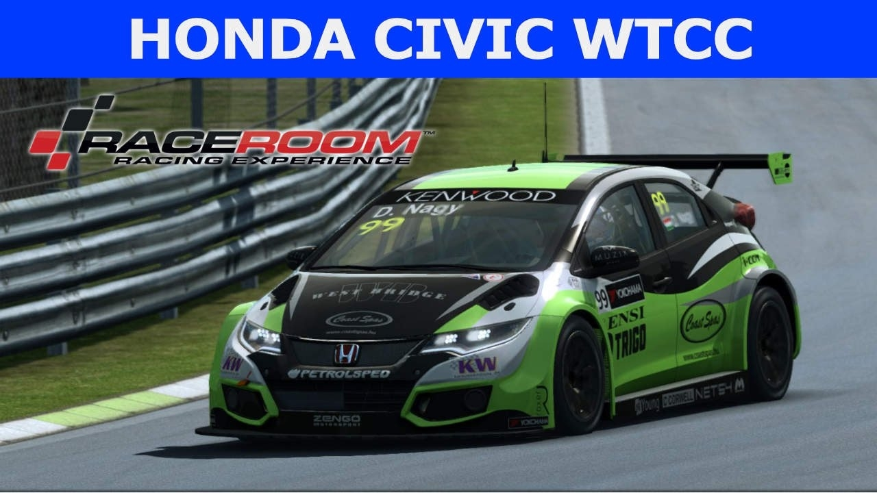 Raceroom - Honda Civic WTCC 2016 at Monza (PT-BR)