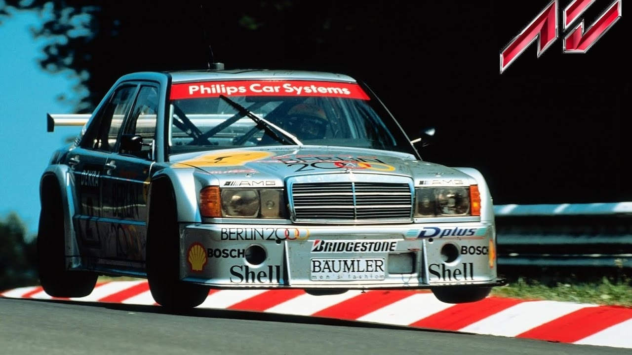 Assetto Online: Mercedes 190 DTM on the Nordschleife!
