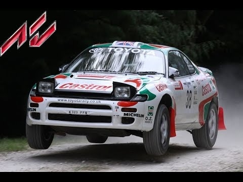 Assetto Rally: Toyota Celica ST185 at Semetin!