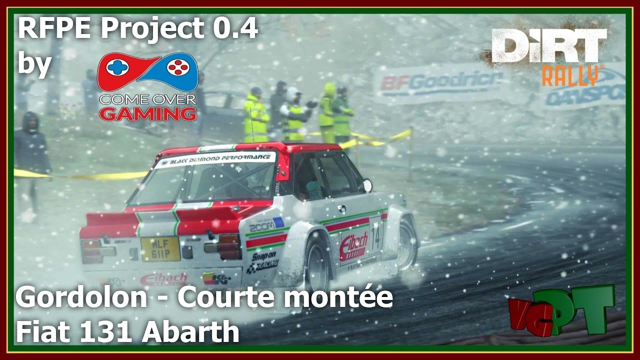 Dirt Rally - RFPE Project 0.4 - Fiat 131 Abarth - Gordolon - Courte montée