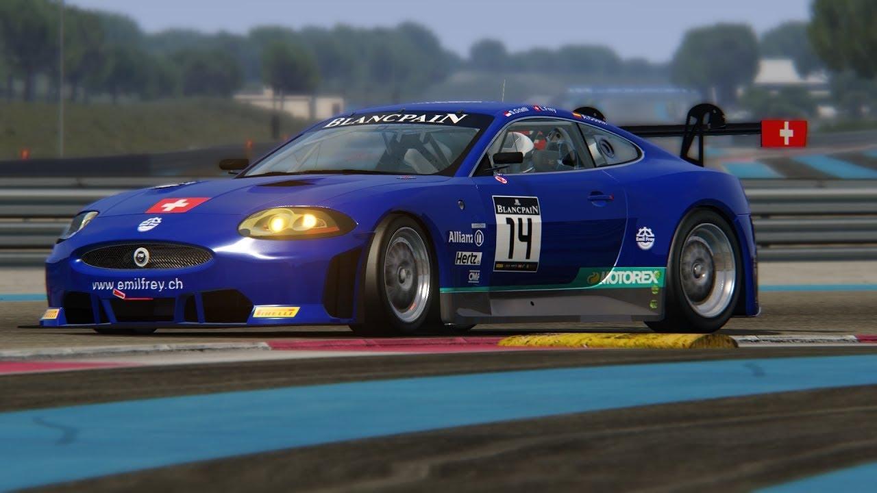 Video Quot Assetto Corsa Emil Frey Jaguar Gt3 At Paul Ricard