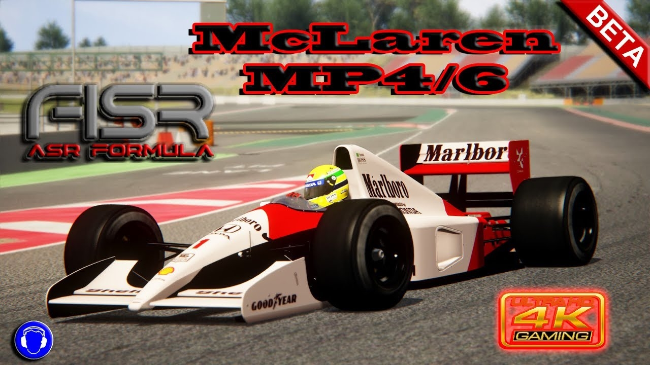 Assetto Corsa 4K * McLaren MP4/6 * Barcelona