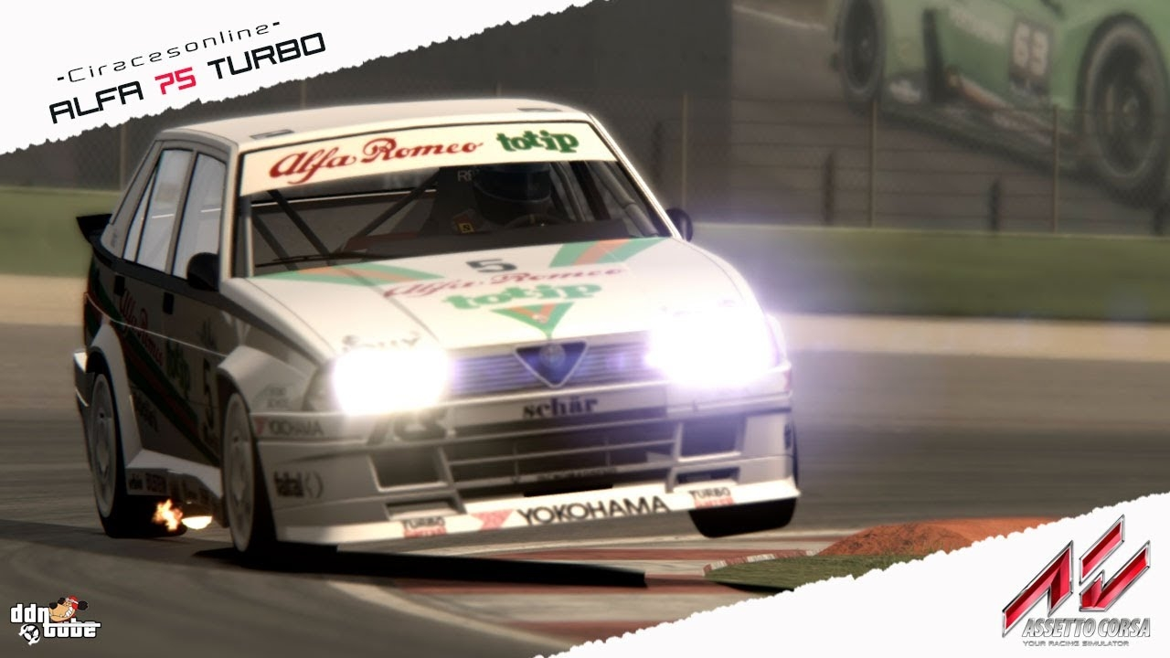 Assetto Corsa Alfa 75 Turbo Gr. N by CIRacesOnline