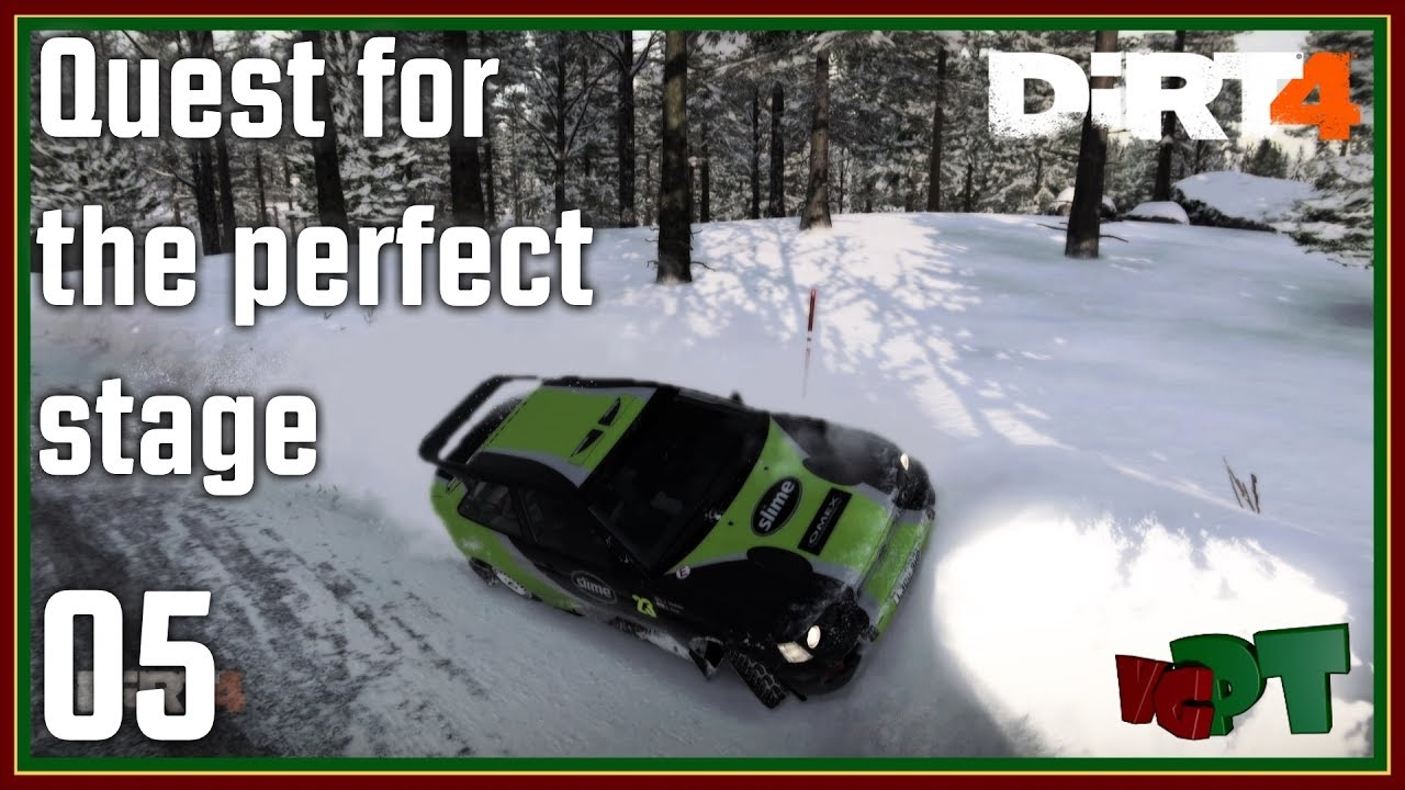 Dirt 4 - Quest For The Perfect Stage - 05 - Ford Escort RS Cosworth