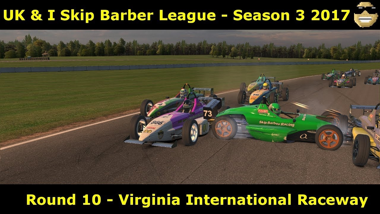 iRacing - Skip Barber UK and I League @ Virginia International Raceway