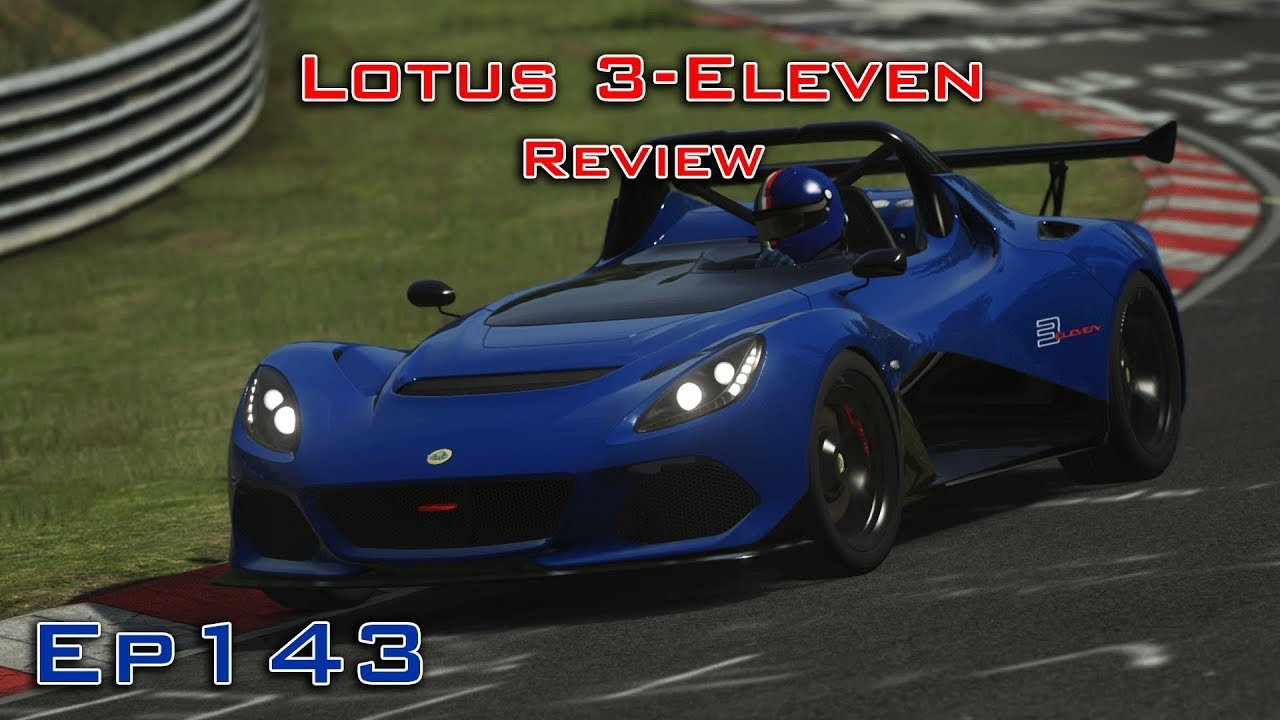 video assetto corsa gameplay lotus 3 eleven review ready 2 race dlc episode 143 in the. Black Bedroom Furniture Sets. Home Design Ideas