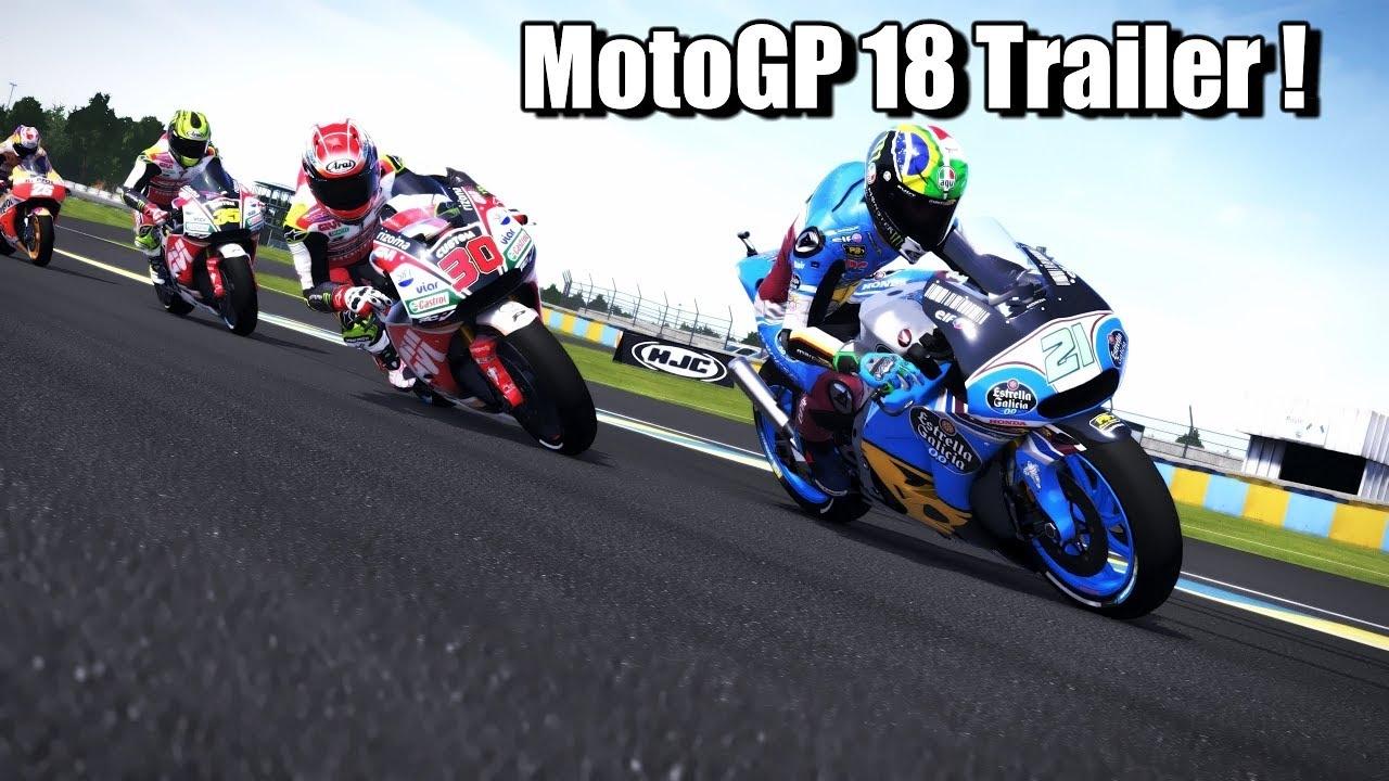 """Video """"MotoGP 18 Trailer Cinematic 1440p"""" In The Album"""