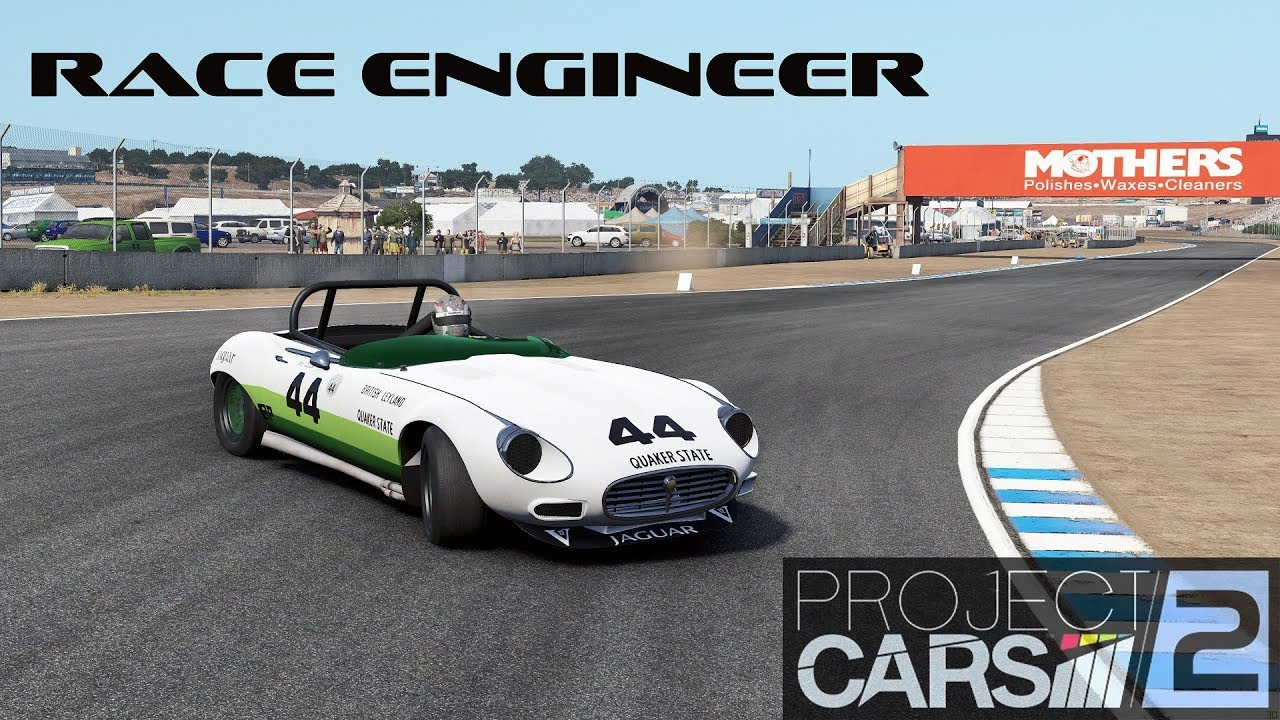 video project cars 2 using the race engineer to setup an e type jag in the album project. Black Bedroom Furniture Sets. Home Design Ideas