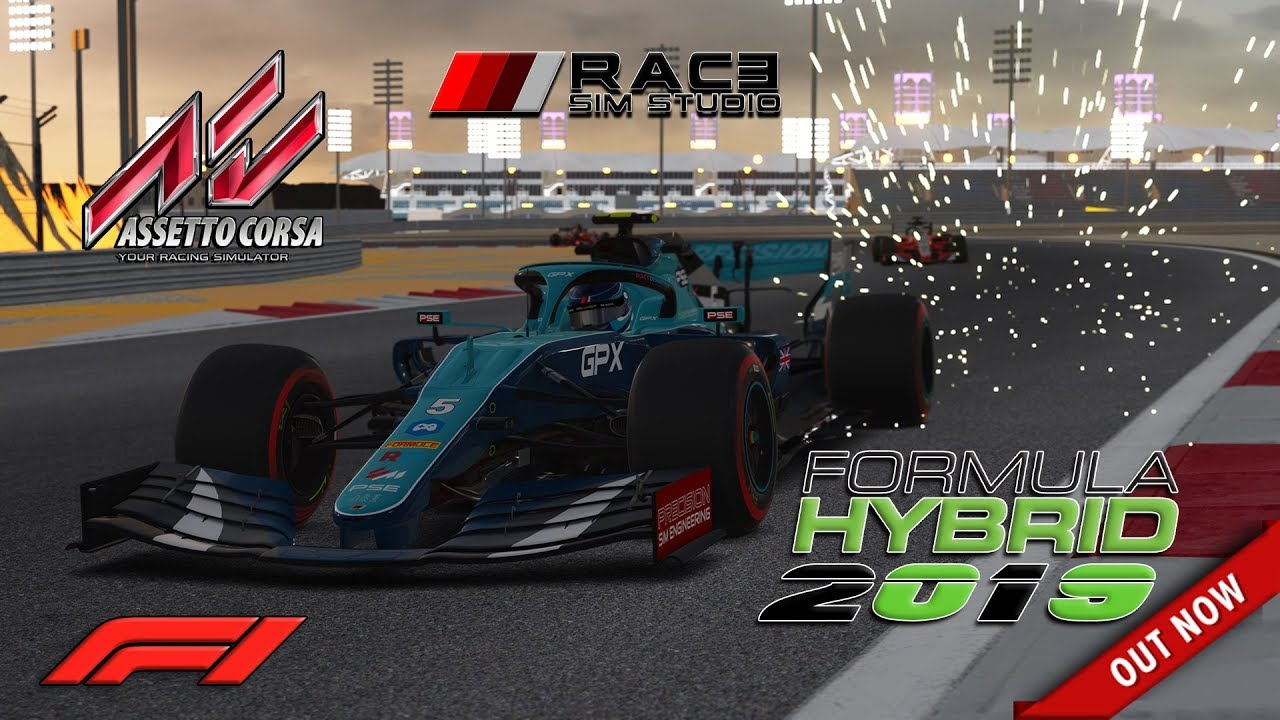 "Video ""Assetto Corsa * Formula Hybrid 2019 by ..."