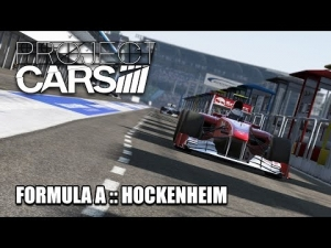 Project Cars (Build 986-987) :: Formula A :: Hockenheim :: Single Player with Track IR :: Practice.