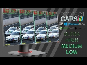 Project CARS FINAL BUILD | GRAPHICS comparition | LOW vs MEDIUM vs HIGH vs ULTRA