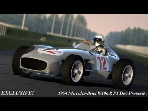 AC - EXCLUSIVE 1954 Mercedes W196 R F1 WIP