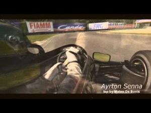 [AC] Ayrton Senna - Tribute at Monza