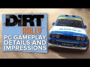 DiRT Rally - PC gameplay, details and first impressions