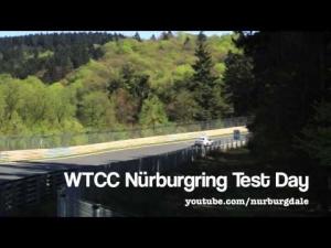 WTCC Nürburgring Nordschleife Test Day (1)