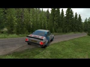 Ford Escort MKII @ Loch Ard
