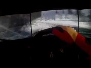 DiRT Rally - Ultra Settings - Onboard - Turini - Audi Quattro -Thrustmaster Triple Screen Gopro