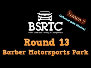 iRacing BSRTC Season 9 Round 13 from Barber Motorsports Park