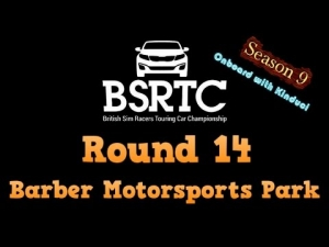 iRacing BSRTC Season 9 Round 14 from Barber Motorsports Park