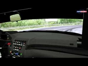 AR-Motorsport BMW M3 GTR Bosnian Hillclimb On Board