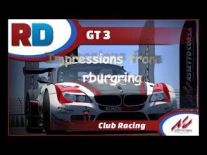 GT3 @ Nürburgring Nordschleife