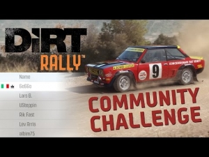 DIRT Rally | Fiat 131 Abarth @ Ampelonas Ormi | 3:34.958